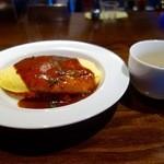 サイトウ洋食店 - 今週のランチ・オムライス(900円)