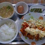 たまごかけごはん なかま - チキン南蛮定食(玉定)940円