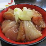 朝市新鮮広場うおすい - マグロの漬け丼(600円)