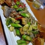 二代目沖縄居食家屋いち - 高級魚 オナガダイと野菜の焼きもの