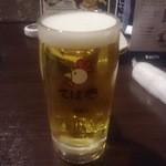 てば壱 - 生ビール