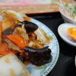 台湾料理 食の味 - 何気に見ると野菜ばかりですが・・・実は