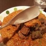 火星カレー - 食べやすいスプーン