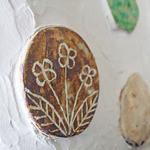 ラグーナの森 - かわいいタイルが装飾された壁