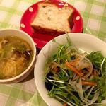 うまい魚とイタリアン yu-ma - ランチの前菜たち