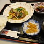 中国料理 華山 - 国産牛と青菜炒め
