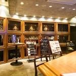 ジアス ルーク&タリー - 「テリー」はテーブル席もある大人な雰囲気のBAR