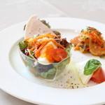 花の森レストラン - 前菜4種盛り合わせ