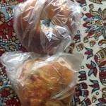 ブーランジェリー セイジアサクラ - 2013年10月:パンを2点購入して522円でした