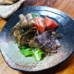 梅鶯荘 - ごぼうの土の力強さをしっかり感じる煮物