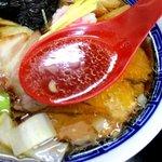 中華そば 亀喜屋 - シンプルながら深い味わいのスープ!(2016,03/20)
