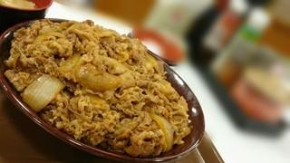 すき家 札幌北郷店   - キング牛丼