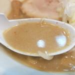 麺処 慶 - スープ