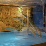 さば問屋 - 美味そうなサバが泳いでいる