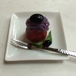 鴨正 - 苺+あんこ+黒豆