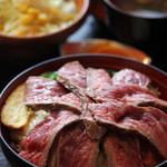 48897486 - 和牛屋特選ローストビーフ丼
