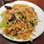 天外天刀削麺 - 焼き刀削麺