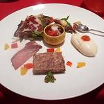 ル・コションドール・キタノ - 前菜盛合せ:自家製と地元産の美しさと美味しさ