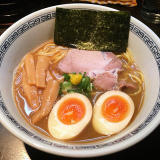 はやし - 料理写真:味玉らーめん@税込900円