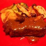 ル・コションドール・キタノ - 肉料理:牛フィレ肉のソテー春野菜添え