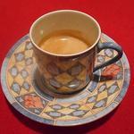 ル・コションドール・キタノ - ドリンク:エスプレッソ 1人づつ違う柄のカップに