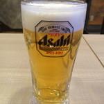 九州熱中屋 駒込本郷通りLIVE - 生ビール