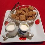 ル・コションドール・キタノ - ドリンク:シュガーとフレッシュ(紅茶用とコーヒー用)