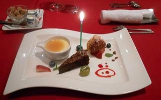 ル・コションドール・キタノ - デザート:わがままで盛合せを 記念日用に