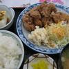 伊吹パーキングエリア(上り線)スナックコーナー - 料理写真:からあげ定食