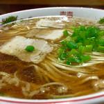 麺屋 十銭 - 白麺=平打ち麺