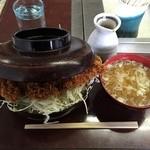 山ノ神焼肉店 - ソースかつ丼¥800