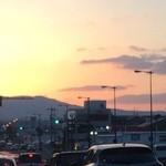 48907275 - 奈良の夕焼けは雲がたなびきたいへん美しい❤