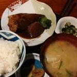 和 - 料理写真:今回の鯖の味噌煮定食 定価650円