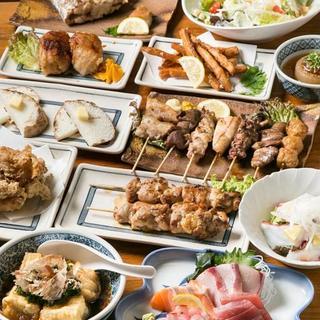 100品あるメニューから選べる食べ飲み放題が3500円☆