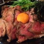 48910198 - ローストビーフ丼 1.5倍盛