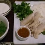 チャオパクチー - カオマンガイ(ランチ)