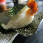 みすゞ庵 - えびむすび170円