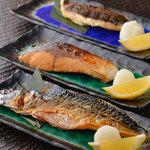 本日の焼魚定食