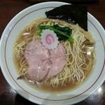 煮干中華そば鈴蘭 - NIBOSHIそば 澄 ~純煮干し仕立て~ 780円