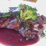フレンチカフェレストラン 神楽坂 ル コキヤージュ - ハラミステーキ