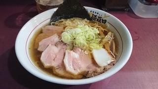麺藤田 - トリトン肉そば