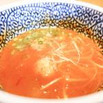 麺屋一燈 - スープ*辛くないです