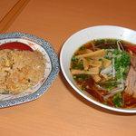 ハルピン - 料理写真:ラーメン定食