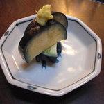 京都岡崎 いく田 - 水茄子。