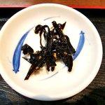 市場食堂 - 市場食堂 @金沢文庫 ごま昆布の佃煮