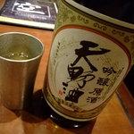 大阪産(もん)料理 空 - 河内長野の地酒は接待にも最高です。