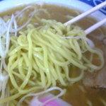 豊国製麺所 - 平打ち麺