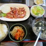 ファイヤービーフ - 料理写真:カルビ切り落としセット¥980
