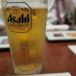 博多魚がし 海の路 - ビールで乾杯です