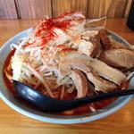 郎郎郎 - ファイヤー麺(醤油・5辛・300g・普通)730円